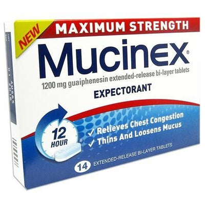 Mucinex Maxium Strength Tablets 14