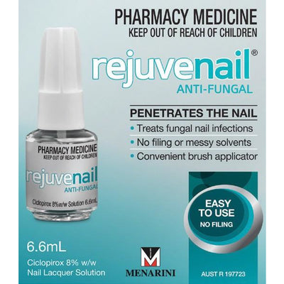 Rejuvenail Anti-Fungal Nail Lacquer 6.6ml