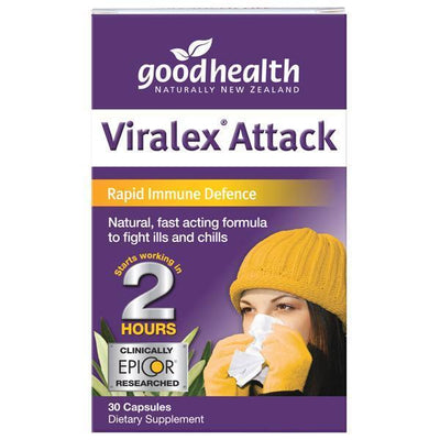 Good Health Products Viralex Attack 30 caps