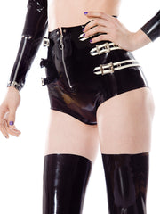 Abbey Latex Shorts