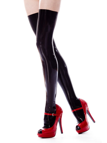 Kira Latex Stocking
