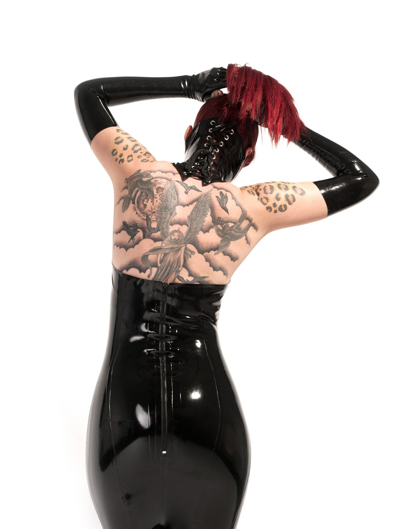 Minerva Latex Gown