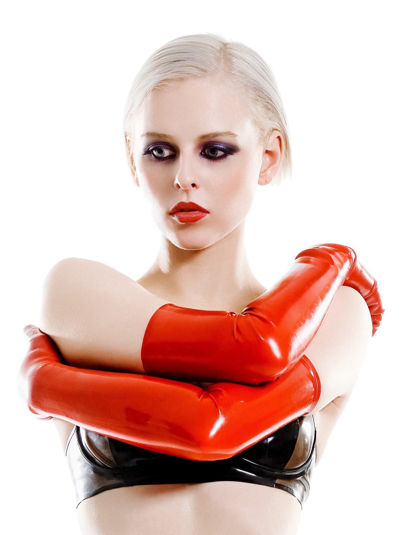 Latex Opera Glove