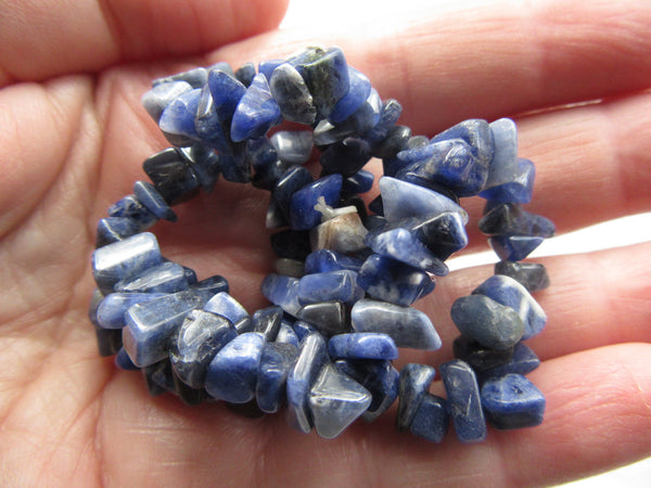Sodalite Chip beads