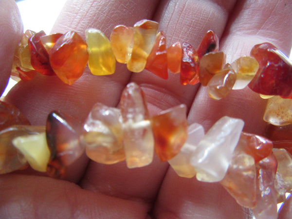 Agate Chip beads