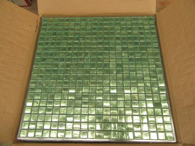 Sage Green Painted Tile