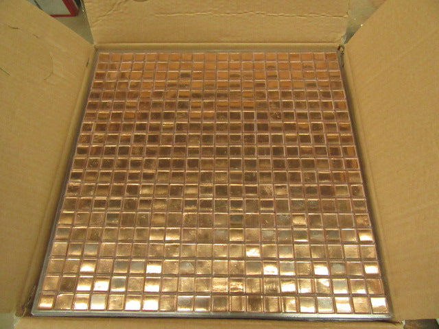 Rose Gold Painted Tile
