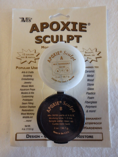Apoxie Sculpt- Green