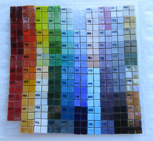 VGT015  Vibrant Glass Tile
