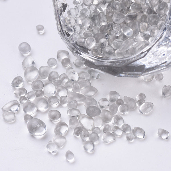 Clear Seed Beads