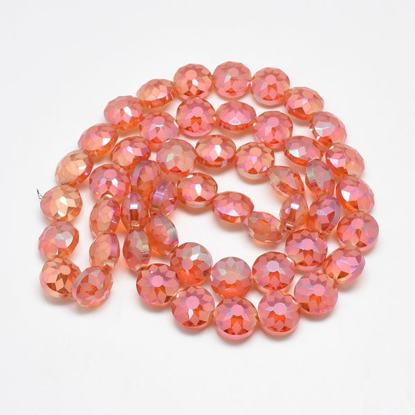 Red Sparkly Beads