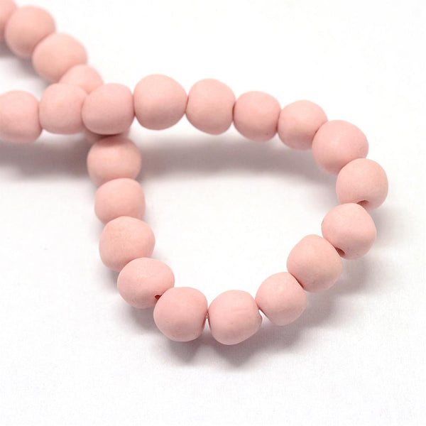 Blush Porcelain Bead