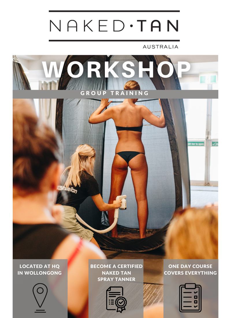 Naked Tan Training Workshop