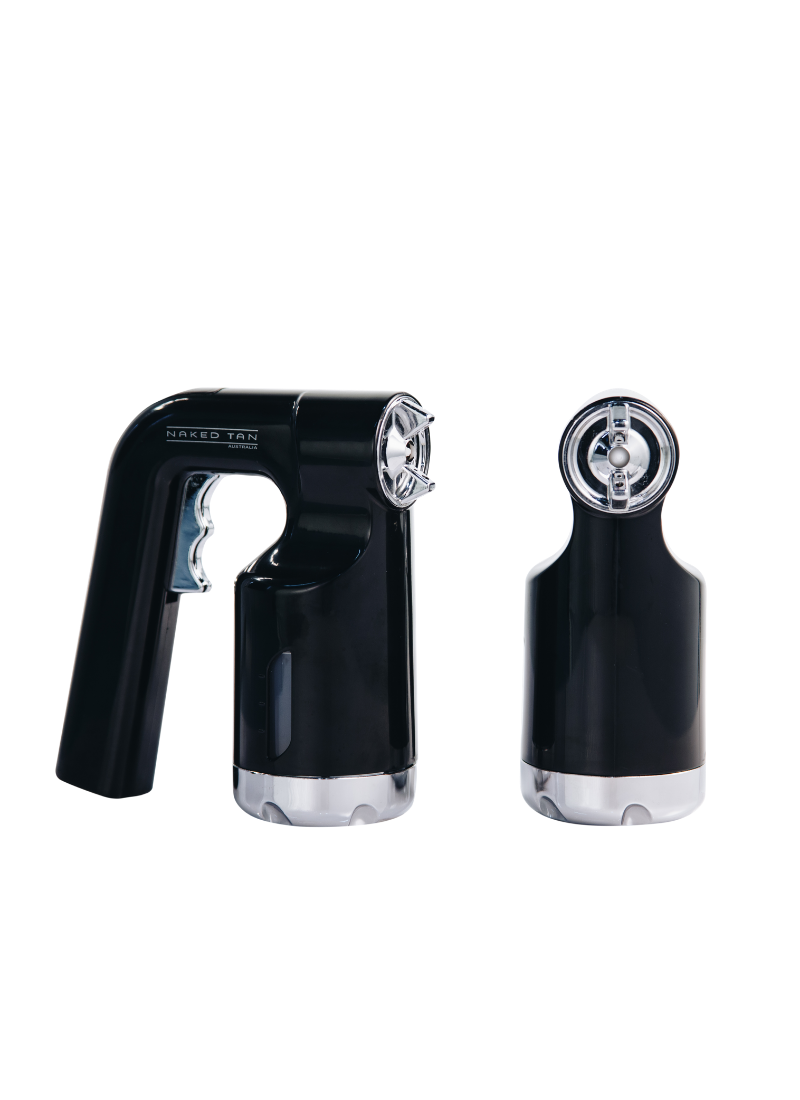 Black Spray Tan Gun