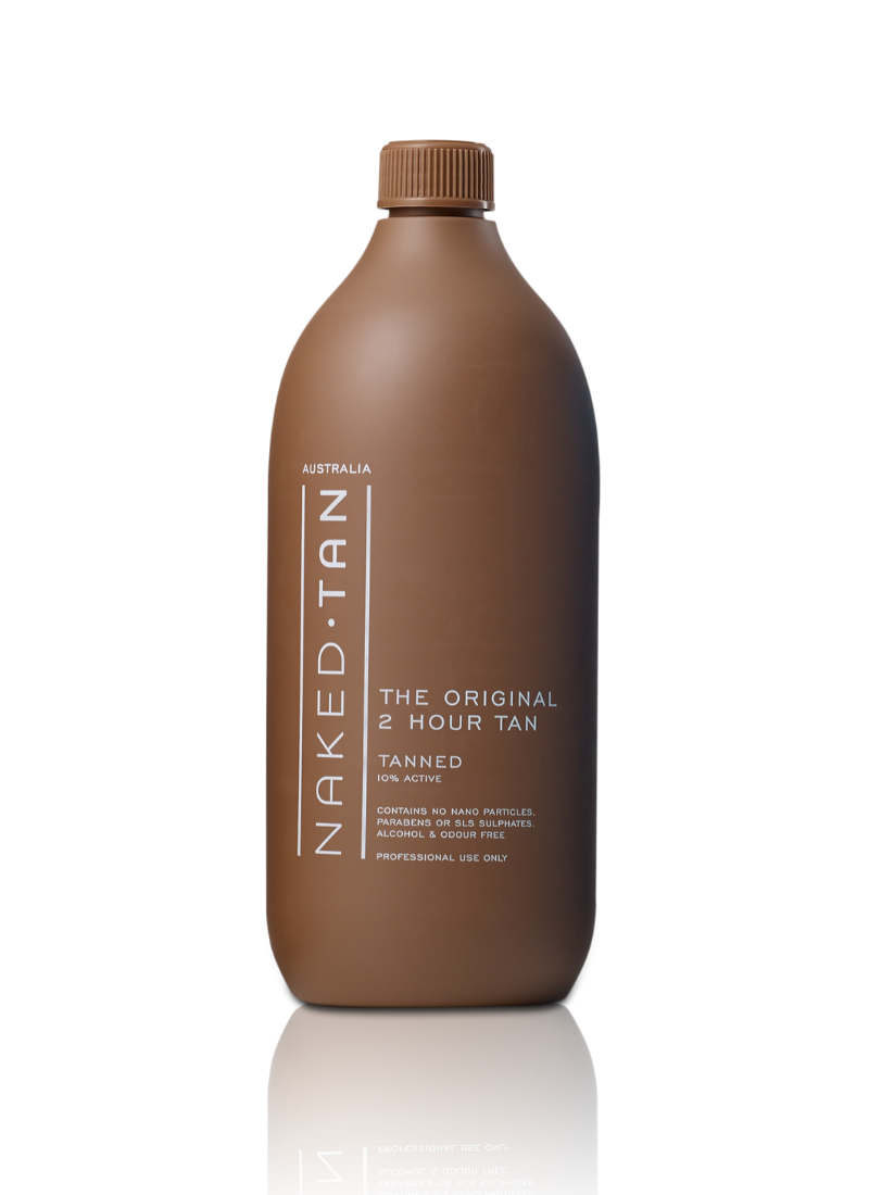 Naked Tan Tanned Solution - 2 Hour Tan
