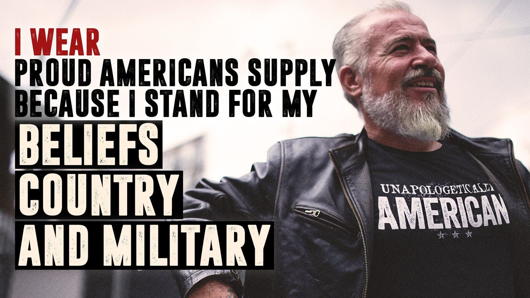 i wear proud american supply