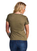 Women's T-Shirt+Military Heather