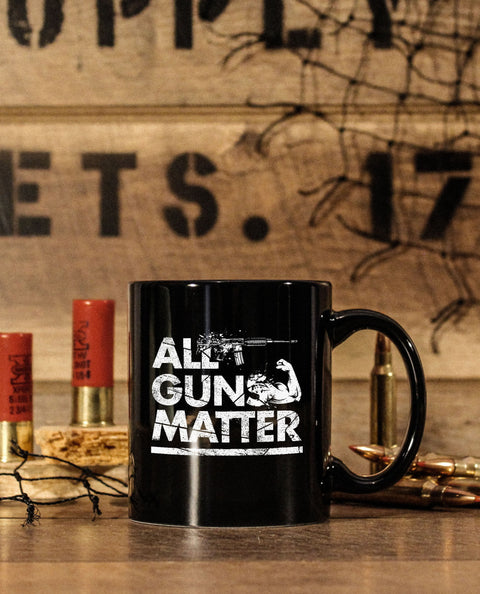 ALL GUNS MATTER PREMIUM 11oz COFFEE MUG