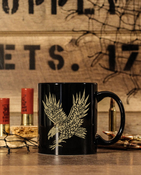 FREEDOM EAGLE PREMIUM 11oz COFFEE MUG