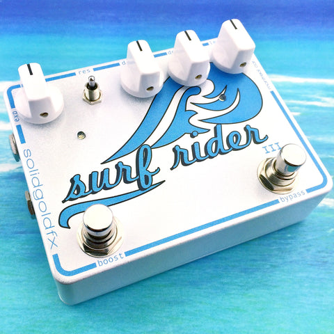 Surf Rider III - Custom Shop Cosmic White