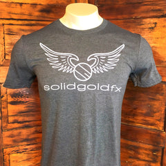 SGFX Wing Logo T-Shirt - Heather Grey