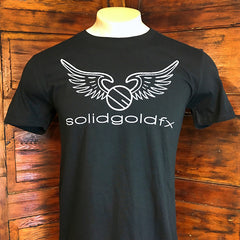 SGFX Wing Logo T-Shirt - Black