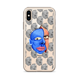 The Real me Transparent background iPhone Case