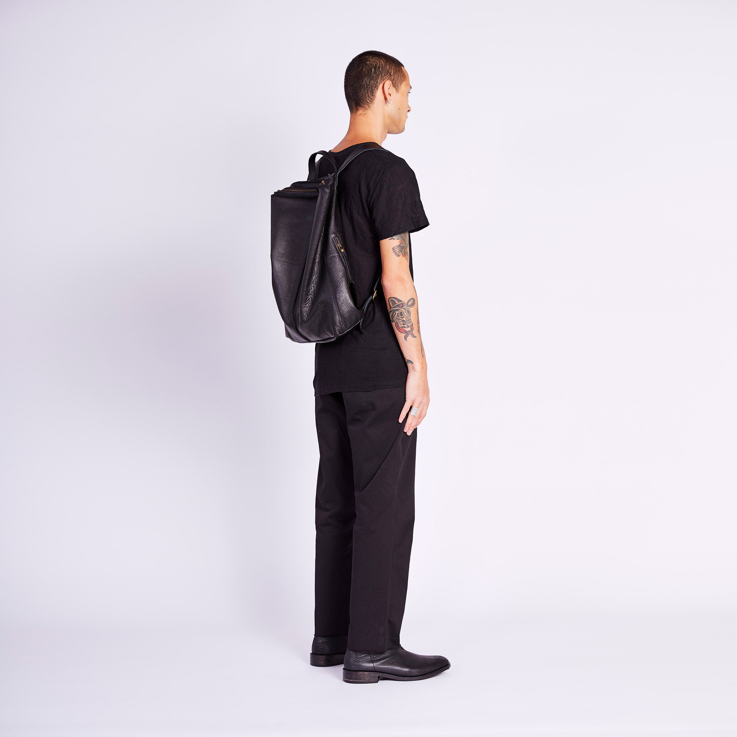 RAW BACK PACK (LEATHER)