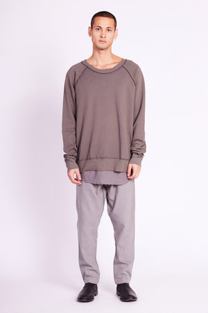 RAW RAGLAN JUMPER