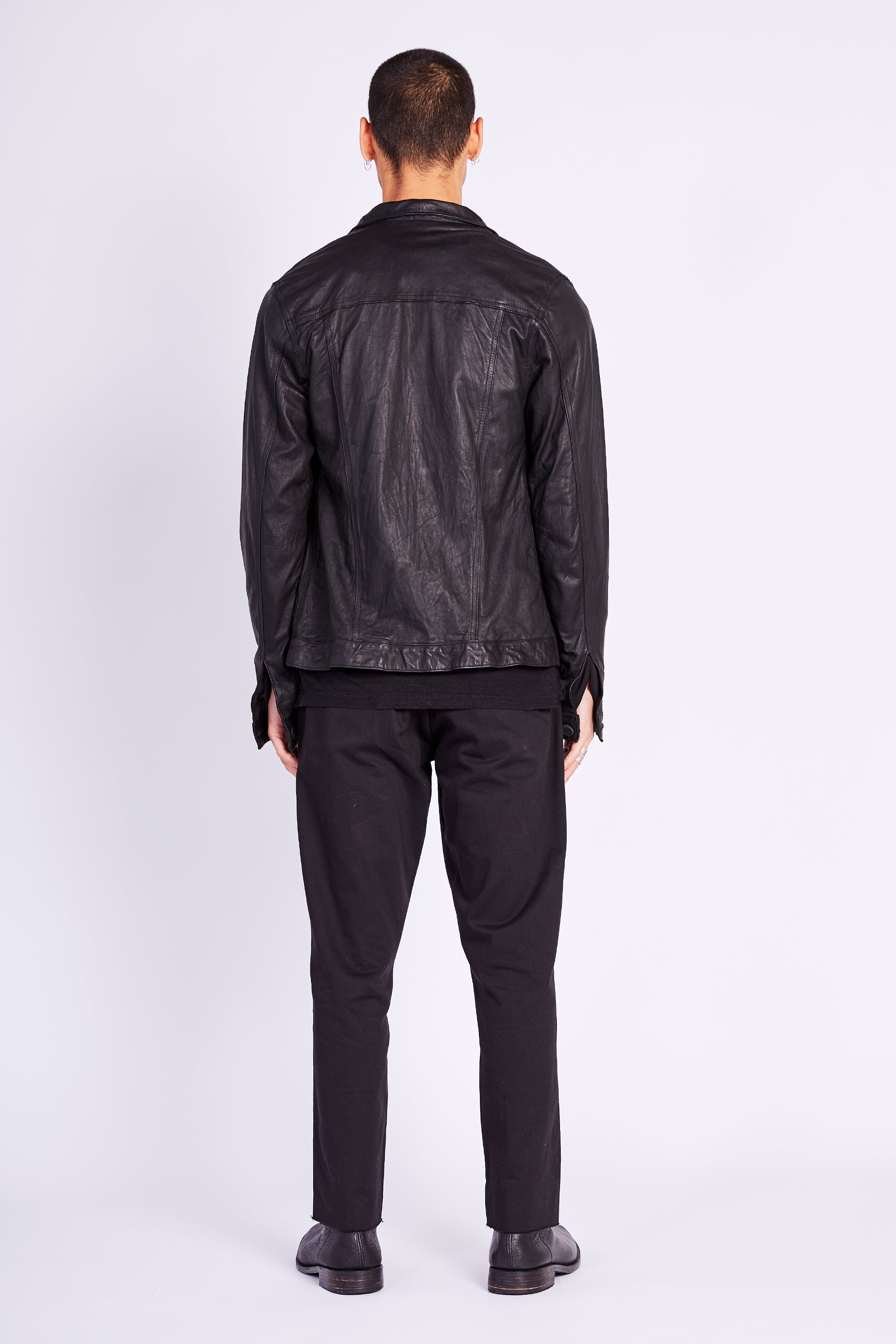CLASSIC JACKET (LEATHER)