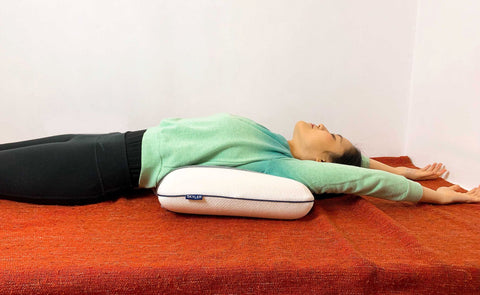 Restorative Heart Opener on Skyler pillow