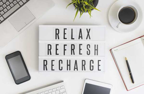 Relax, refresh and recharge yourself with a short nap!