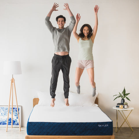 Skyler mattresses can help minimise partner disturbance by absorbing movement through its premium foam layers