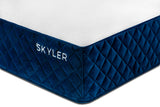Skyler mattress zoomed in view showing Coolmax mattress cover surface