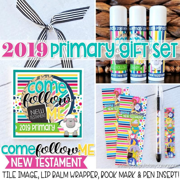 2019 Primary Gift {Tile Art, Bookmark, Lip Balm + Pen} PRINTABLES-My Computer is My Canvas