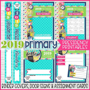 2019 Primary Presidency Kit PRINTABLES-My Computer is My Canvas