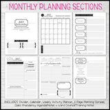 2019 YW Presidency Planner PRINTABLE-My Computer is My Canvas