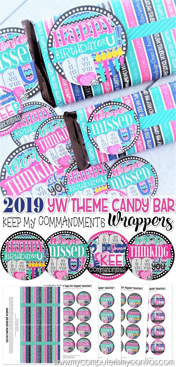 2019 YW THEME Chocolate Bar Wrapper PRINTABLE – My Computer