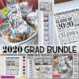 2020 Graduation BUNDLE (Nugget, Subway Art, Gift Basket) PRINTABLE