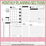 2020 Relief Society Planner + Sept-Dec 2019 PRINTABLE