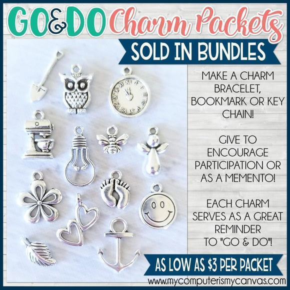 2020 YW Go & Do Charm Packets