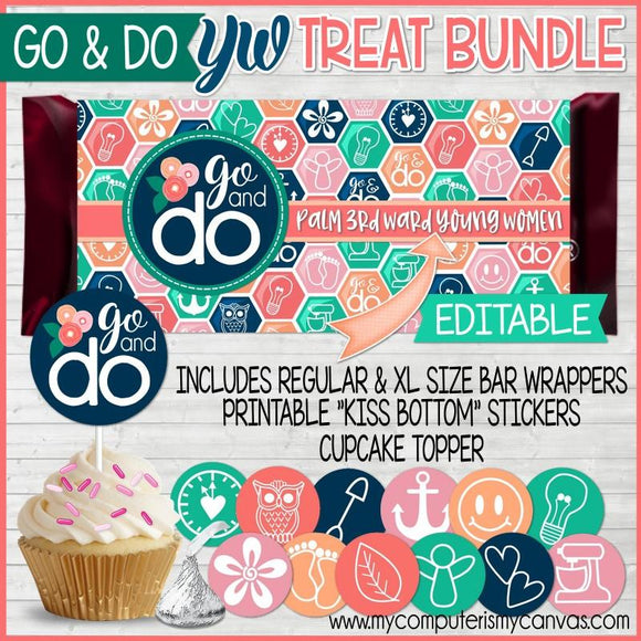 2020 YW Go & Do {TREAT BUNDLE} PRINTABLE