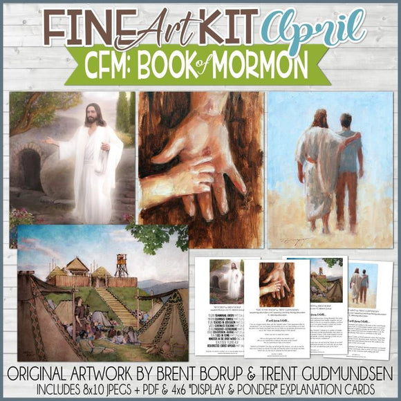 CFM BOOK of MORMON Fine Art Kit {APR 2020} PRINTABLE
