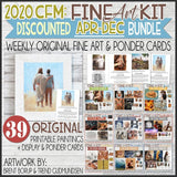 CFM BOOK of MORMON Fine Art Kit {APR-DEC 2020} DISCOUNTED PRE-ORDER BUNDLE - PRINTABLE