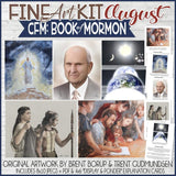 CFM BOOK of MORMON Fine Art Kit {AUG 2020} PRINTABLE