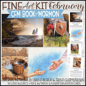 CFM BOOK of MORMON Fine Art Kit {FEB 2020} PRINTABLE