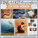 CFM BOOK of MORMON Fine Art Kit {FEB-DEC 2020} DISCOUNTED PRE-ORDER BUNDLE - PRINTABLE