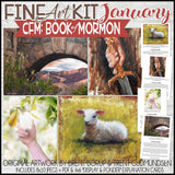 CFM BOOK of MORMON Fine Art Kit {JAN 2020} PRINTABLE