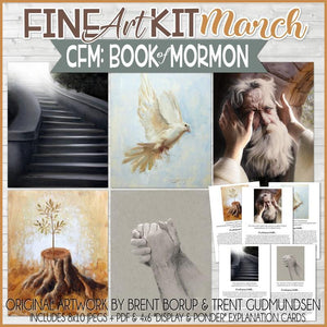 CFM BOOK of MORMON Fine Art Kit {MAR 2020} PRINTABLE