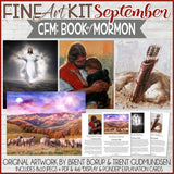 CFM BOOK of MORMON Fine Art Kit {SEPT 2020} PRINTABLE